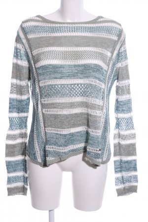 Khujo Coarse Knitted Sweater multicolored casual look