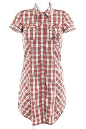 Khujo Abito blusa camicia motivo a quadri stile country
