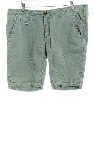 Khujo Denim Shorts green casual look