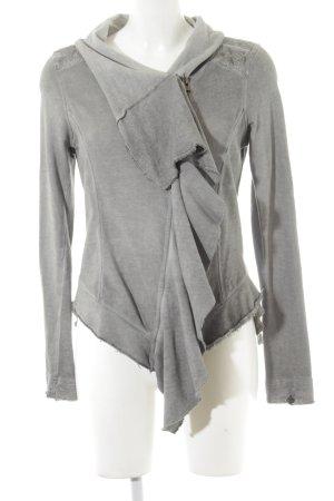Khujo Jersey Blazer gris look casual
