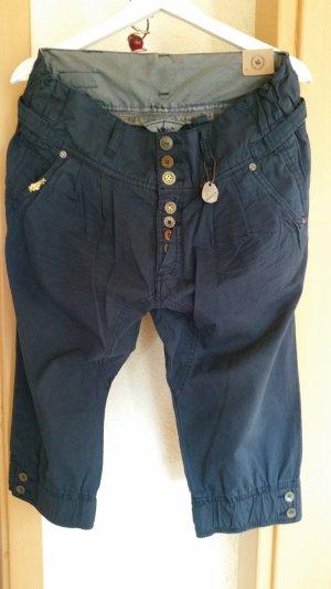 Khujo 7/8-broek donkerblauw