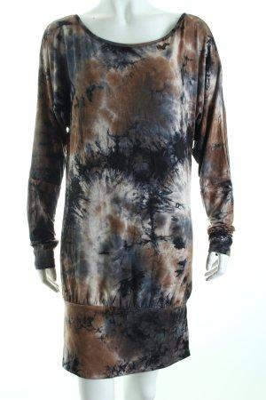 Khujo Langarmkleid Batikmuster Street-Fashion-Look