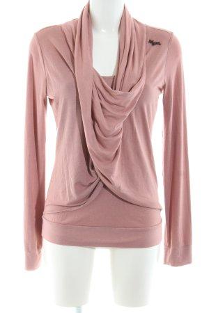 Khujo Longsleeve pink Casual-Look