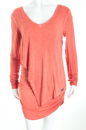 Khujo Longtop dunkelorange Casual-Look