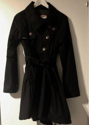 Khujo Abrigo corto negro