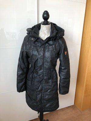 Khujo Hooded Coat black