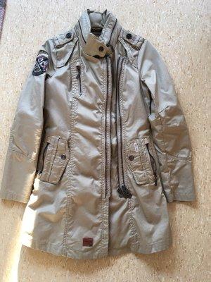 Khujo Mantel Trenchcoat beige Gr. M