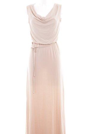 Khujo Maxikleid beige Street-Fashion-Look