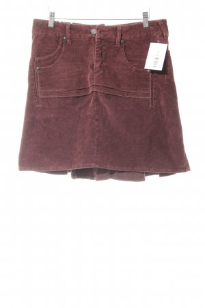 Khujo Minirock bordeauxrot Casual-Look
