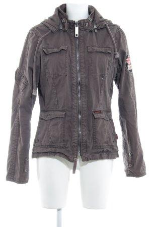 Khujo Outdoor Jacket grey brown casual look