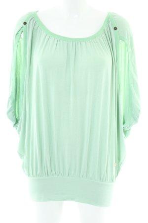 Khujo Oversized Shirt grün Casual-Look
