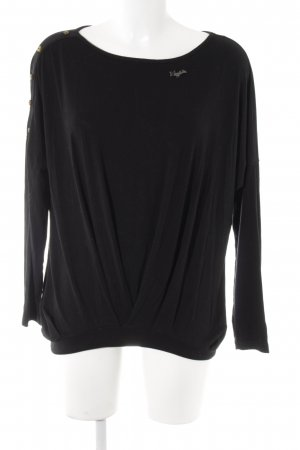 Khujo Oversized Shirt schwarz Casual-Look