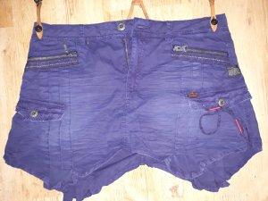 Khujo Fringed Skirt blue