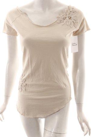 Khujo Shirt beige Casual-Look