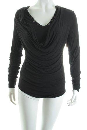 Khujo Shirt schwarz Casual-Look