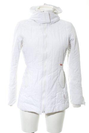 Khujo Giubbotto trapuntato bianco motivo trapuntato stile casual