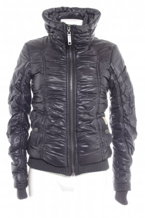 Khujo Steppjacke schwarz Glanz-Optik