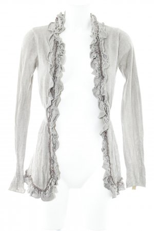 Khujo Strick Cardigan beige Casual-Look