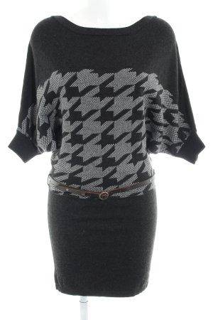 Khujo Robe en maille tricotées Mélange de motifs style décontracté