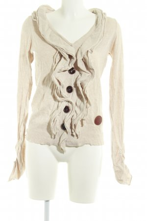 Khujo Strickweste creme Casual-Look