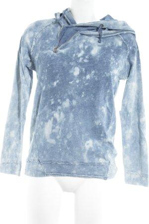 Khujo Sweatshirt blau-himmelblau Farbverlauf Casual-Look