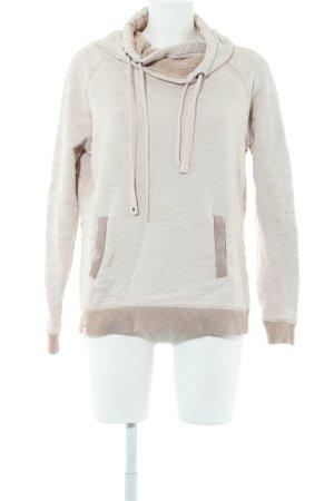 Khujo Sweatshirt creme-wollweiß Casual-Look