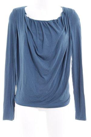 Khujo Sweatshirt petrol schlichter Stil