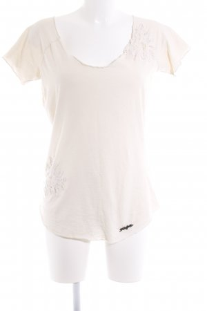 Khujo T-Shirt creme Casual-Look