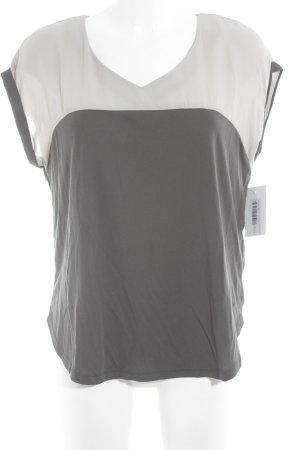 Khujo T-Shirt grau-graubraun Webmuster Casual-Look