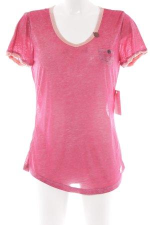 Khujo T-Shirt mehrfarbig Casual-Look