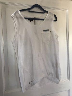 Khujo Camisa de mujer blanco