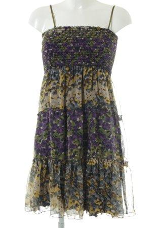 Khujo Trägerkleid Blumenmuster 90ies-Stil