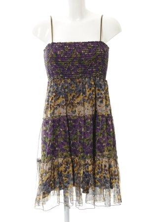 Khujo Trägerkleid florales Muster Casual-Look
