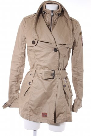 Khujo Trenchcoat camel 2 in 1-look