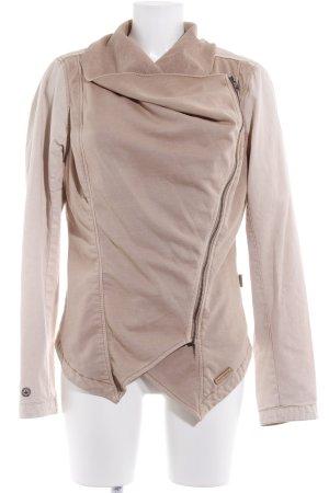 Khujo Übergangsjacke creme-beige Casual-Look