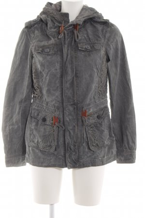 Khujo Between-Seasons Jacket light grey casual look