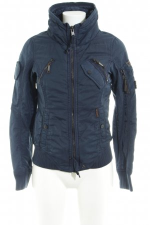 Khujo Übergangsjacke dunkelblau Casual-Look