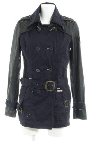 Khujo Übergangsjacke dunkelblau-schwarz Casual-Look