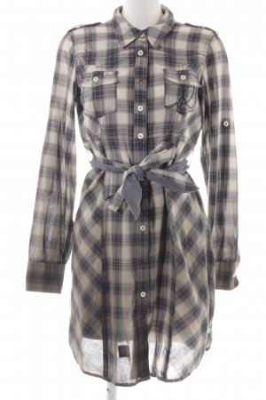 Khujo Vintage Abito blusa camicia Colore sfumato stile casual