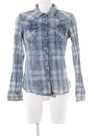 Khujo Vintage Camisa de leñador estampado a cuadros look casual