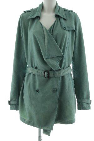 Khujo Vintage Übergangsmantel grün Casual-Look