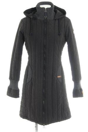 Khujo Vintage Winterjacke schwarz Casual-Look