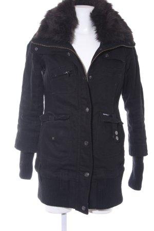 Khujo Vintage Chaqueta de invierno negro productos vintage