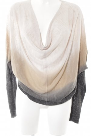 Khujo Cowl-Neck Shirt color gradient casual look