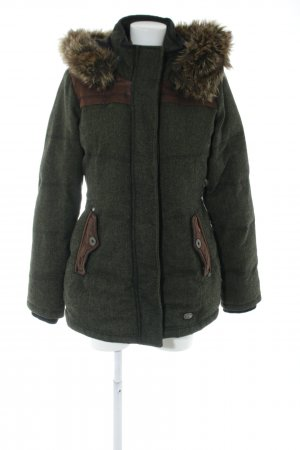 Khujo Winterjacke grafisches Muster Casual-Look