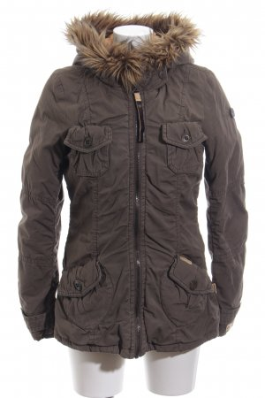 Khujo Winterjacke braun Street-Fashion-Look