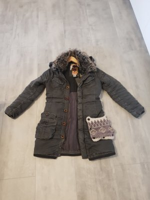 khujo winterjacke chantal Anthrazit