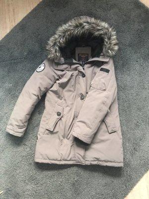 Khujo Giacca invernale marrone-grigio