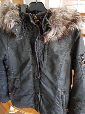 Khujo Winterjacke, Größe L, schwarz