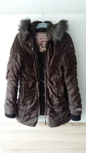 Khujo Winterjacke khaki